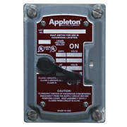 Appleton Electric Edsk-mc3 Motor Switch Device Cover,30a,600v,3p