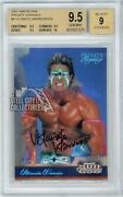 Ultimate Warrior 2007 Donruss Americana Private Signings Auto 220/250 Bgs 9.5