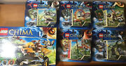 Lego Legends Of Chima Sets Lot Complete W/ Boxes And Instructions