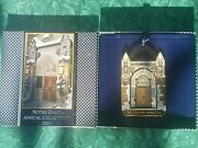 2009 Annual Collectible Notre Dame Christmas Ornament The Memorial Door W/box