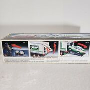 Hess Trucks 1992 18 Wheeler Truck And Racer New In Box Head And Tail Lights Work