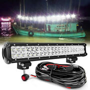 20 Inch Spreader Led Marine Lights Deck Mast Light 12v Boat Fishing Lamp 22and039and039