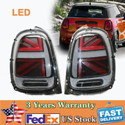 Taillights Taillamps Brake Light Lh And Rh Pair Set For 14-18 Mini Cooper F55 F56