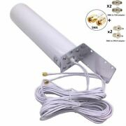 Lte Antenna Outdoor 3g 4g External 5m Dual Slider Crc9 Ts9 Sma Router Connector