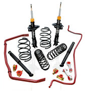 Eibach Springs,shockandsway Bars For 2007-2010 Ford Mustang Shelby Gt50035132.680