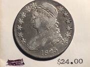 1825 Bust Half Nice Orginal Uncleaned Super Old Store Inventory Nice