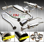 Stainless Steel Catback Exhaust 65mm 4.5 Tip For 11-19 Jeep Grand Cherokee 5.7l