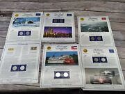 Us State Quarters And Stamp Sets Lot Of 6 All Different