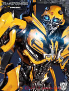 25andrdquo P1s Mmtfm-20 The Last Knight Bumblebee Large Size Statue In Stock