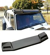 G Wagon Brabus Style Carbon Front Roof Spoiler W Led Fits W463 Mercedes G-class