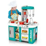 Kitchen Playsets Pretend Baker Kids Toy Cooking Playset Girls Food Gifts Present