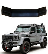 G Wagon 4x4 6x6 Brabus Style Front Roof Spoiler W Led Fits W463 Mercedes G-class