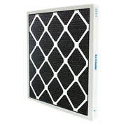Air Handler 2jtu9 Odor Removal Non-pleated Filter16x25x2 Pk 4