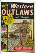 Western Outlaws And Sheriffs 64 1950- Joe Maneely Cover-chisholm Trail-george ...