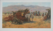 Howard Terpning Search For The Renegades S/n L/e 565/1000 Rare Mint W/ Coa
