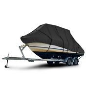 Boston Whaler Outrage V20 Center Console T-top Hard-top Fishing Boat Cover Black