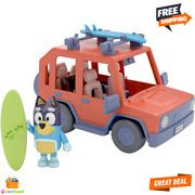 Bluey 4wd Family Vehicle With 1 Figure And 2 Surfboards Customizable Car Ages 3+