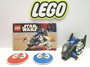 Lego 7667 Star Wars Imperial Drop Ship 100 Complete W/ Instructions All Figures