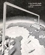 1944 Bostitch Fastener Wire Speed Production Riveting Glue Nail Vintage Print Ad