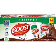 Boost High Protein Drink Chocolate 24 Pk. Free N Fast Shipping