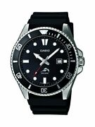 Casio Mdv106-1a Menand039s Analog Watch - Black Fast Shipping