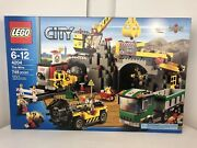 Lego City 4204 - The Mine - 100 Complete - With Box And Instructions