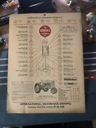 1946 Kendall Motor Oil Sign Farmall Tractor Sign Gas Sign Lube Sign