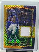 2020 Select Justin Jefferson Rookie Gold Patch 7/10