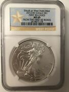 2012 W Silver Eagle First Releases Ngc Ms69 From The First 50 Boxes West Point