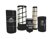 Mahindra Tractor Filter Pack Of 5 Filters For 6075 4wd / 6075 4wd Cabin