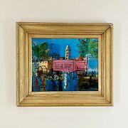 Raoul Dufy French1877-1953 And039the Promenade And Pier In Niceand039 Signed In Plate