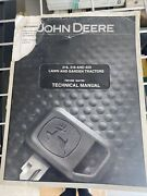 John Deere Technical Manual For 316318420 Lawn And Garden Tractor