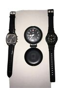 New In Box Watches, Never Been Used. Montres De Fleur, Casio And Swiss Army Watch