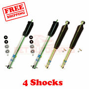 Kit 4 Bilstein 5-6 Front And Rear Lift Shocks For Jeep Cherokee Xj 4wd 84-`01