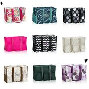 Thirty One Organizing Zip Top Utility Mummy Shoulder Tote Bag 31 Gift New