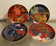 Williams Sonoma Lunar New Year Salad Plates Set Of 4 Mixed New