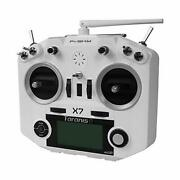 Frsky 2.4g Accst System Taranis Q X7 16 Channels Transmitter Remote White