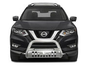 Black Horse Beacon Bull Bar Stainless Steel Fit 2014-2020 Nissan Rogue