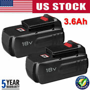 1~2packs 18v 18-volt 4500mah Nicd Battery For Porter Cable Pc18b Cordless Tools