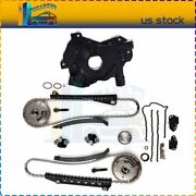 For 05-08 Ford F-250 Super Duty 5.4l Triton Timing Chain Oil Pump Kit Cam Phaser