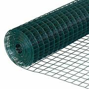 40 Inches X 82 Feet 19-gauge Green Pvc Welded Wire Garden Fence With 0.65