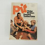 Pit Parker Brothers Frenzied Trading Card Game 661 Vintage 1973