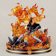 Jz Studio One Piece Sabo Statue With Led Light 1/6 Resin Painted Collectible