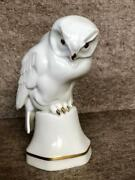 Vintage Very Rare Germany Porcelain Hutschenreuther Collectible Owl Figurine