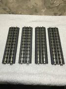 Lot 4 Mth Rail King O Scale Realtrax Solid Rail 10 Straight Track 40-1001