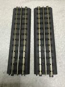 Lot 2 Mth Rail King O Scale Realtrax Solid Rail 10 Straight Track 40-1001