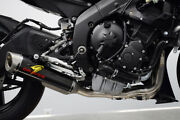 Works 7 Carbon Fiber Titanium Full Exhaust Exy-18r6-ftcw7 For 06-20 Yamaha R6