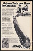 1970 Lionel Electric Toy Train Grand Trunk And Western Set Pic Vintage Print Ad
