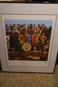 The Beatles Sgt. Pepper's Lonely Hearts Club Band Limited Edition Print, Coa