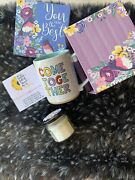 Gift Baskets For Women Candle Gift Box With Candle And Bracelet For Mom